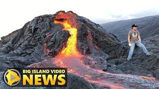 Video Kilauea Volcano Rift Zone Eruption Update (Jan. 26, 2018) MP3, 3GP, MP4, WEBM, AVI, FLV Februari 2019