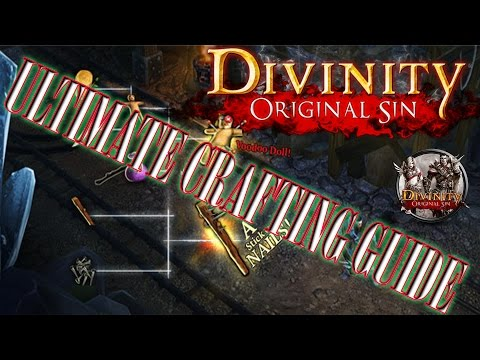 Best Crafting Guide - Divinity Original Sin - Tenebrium/tools/armor/weapons - Guide/tips/recipes