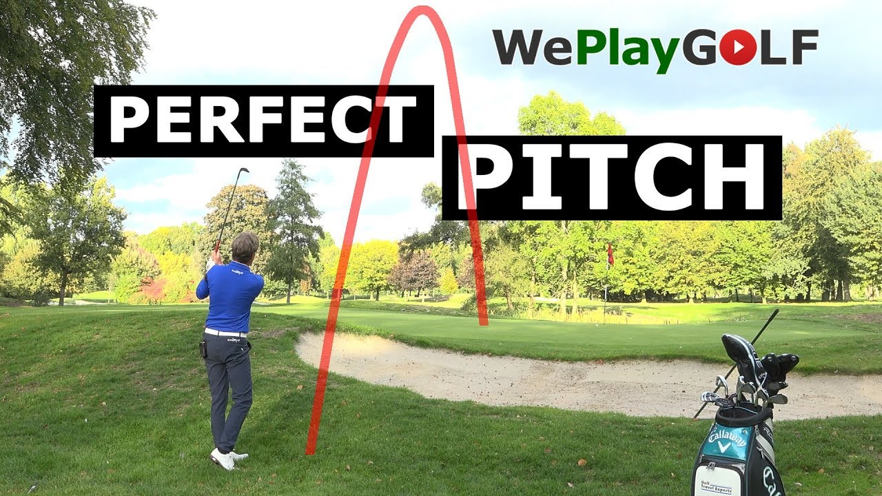 This is how you play the perfect pitch shot in golf