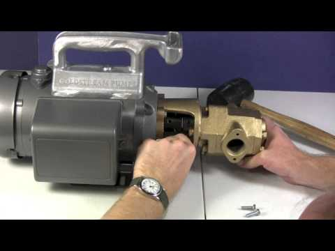 How To Assemble A Goldstream Monster Gear Pump - Utah Biodiesel Supply