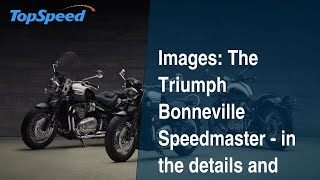 8. Images: The Triumph Bonneville Speedmaster - in the details and accessories.