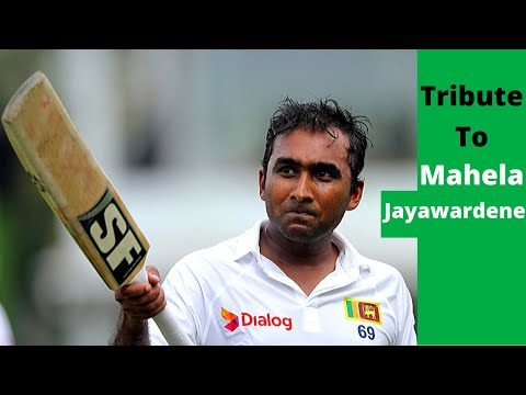 Tribute To Mahela Jayawardene