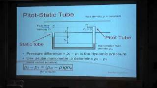 Fluids - Lecture 3.4 - Flow Rate Measurement