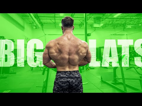 3 Back Exercises For THICK Lower Lats (You Need These!)