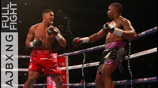 Video Full Fight | AJ Vs Dillian Whyte KO MP3, 3GP, MP4, WEBM, AVI, FLV Februari 2019