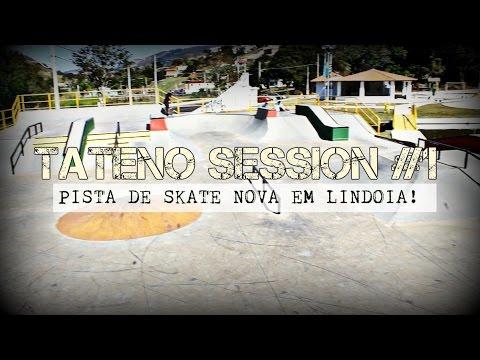 Pista nova em Lindoia, role no bowl de amparo! - TATENOSESSION #01