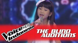 "Video Sherina ""Kupu-Kupu"" I The Blind Auditions I The Voice Kids Indonesia GlobalTV 2016 MP3, 3GP, MP4, WEBM, AVI, FLV September 2018"
