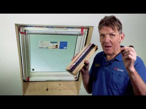 Video of Centre Pivot Thermal Pine Roof Window 780mm x 550mm