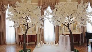 Тренд сезона в свадебном оформлении!!! Искусственные деревья для вашего мероприятия!