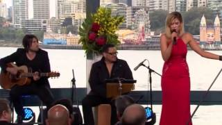 Delta Goodrem performs at the Pride of Australia Awards 2014