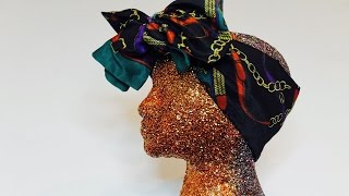 How To: DIY Glitter Mannequin Head
