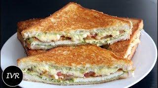 Paneer Cheese Sandwich | Paneer Tomato Cheese Toast On Tawa | Cheese Tomato Sandwich | Paneer Toast