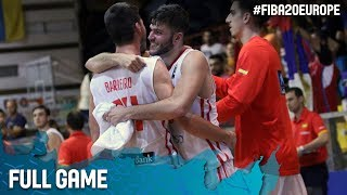 Watch Spain v Serbia at the FIBA U20 European Championship 2017. ▻▻ Subscribe: http://fiba.com/subYT Click here for more:...
