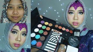 Video Tutorial Makeup Wisuda Awet menggunakan Produk Lokal untuk MUA Pemula | Inivindy MP3, 3GP, MP4, WEBM, AVI, FLV Oktober 2017