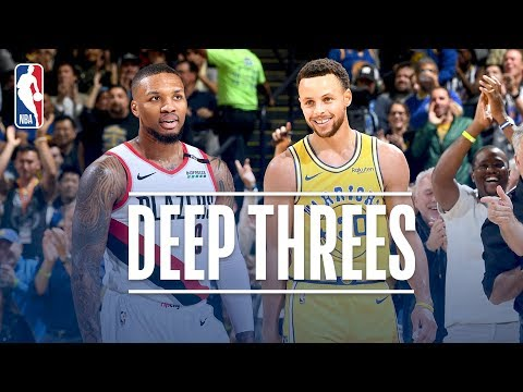 Best Deep Threes From Stephen Curry & Damian Lillard! | 2018-19 NBA Regular Season & Playoffs