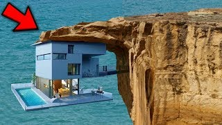 Video Top 10 Riskiest Houses In The World! MP3, 3GP, MP4, WEBM, AVI, FLV Februari 2019