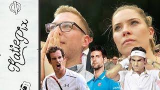 MURRAY, FEDERER, DJOKOVIC. IT'S WIMBLEDON, BABY! | Vlog 047 | Katie Pix by Katie Pix