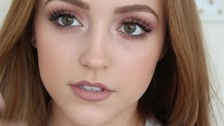 Feathery Lashes and Romantic Mauves- Makeup Tutorial