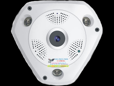 Demo sản phẩm camera ip wifi vr camera 360