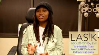 Kelisha Ruise shares her Lasik at Southern Eye Experience