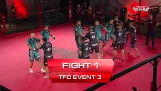 Gdynia Poland  city photo : Fight 1 of the TFC Event 3 Barbarians FT St Petersburg, Russia vs HFA Gdynia, Poland online video c