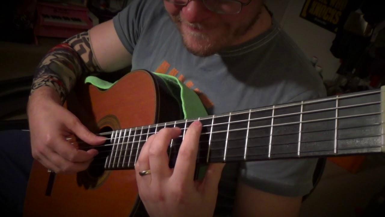 8 Metallica Ballads on Classical Guitar – Medley