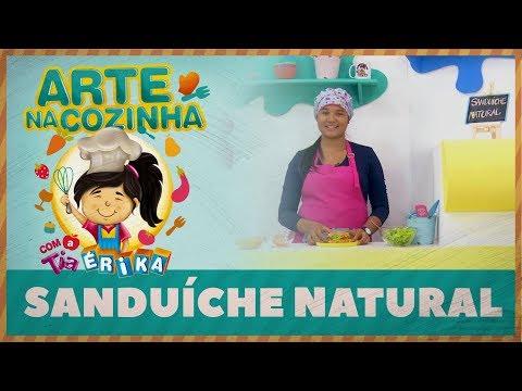 SANDUÍCHE NATURAL | Arte na Cozinha com a Tia Érika