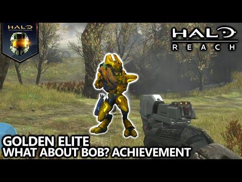 Halo Reach - What About Bob? Achievement Guide - Eliminate a Golden Elite Ranger Commander