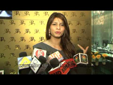 Tanisha Mukharjee at Popley Store launch