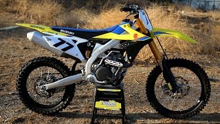 6. First Ride 2019 Suzuki RMZ450 - Motocross Action Magazine