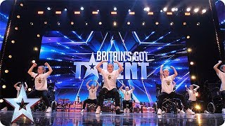 FIRST LOOK: An inspirational audition by RISE   BGT 2018