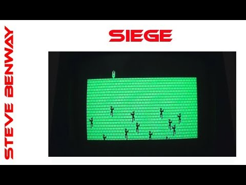Siege on Commodore PET / CBM 8032. Gameplay & Commentary