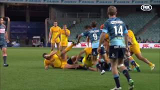 Waratahs v Jaguares Rd.16 Super Rugby Video Highlights 2017