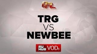 NewBee vs TRG, game 1