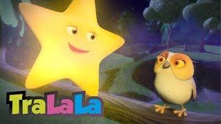 """Abonează-te la TraLaLa! ▻ http://bit.ly/Imi-place-TraLaLa Urmăriți """"Strălucește, mică stea (Twinkle, Twinkle, Little Star în română)"""", un cântec de leagăn animat ..."""