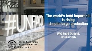 FAO Food Outlook, November 2017