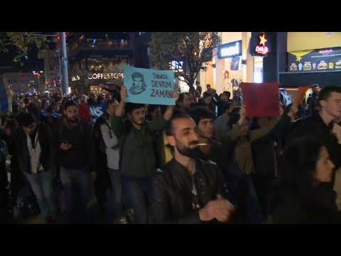 Türkei: Demonstrantion in Istanbul / »Wir haben keine ...
