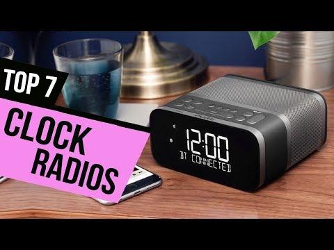 7 Best Clock Radios 2018 Reviews