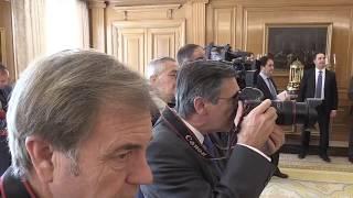 S.M. el Rey recibe en audiencia a los integrantes de la Junta Directiva de PHotoEspaña