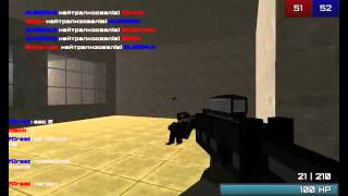 Обзор игры Cube Wars Multiplayer 3D FPS, Beta test часть 1