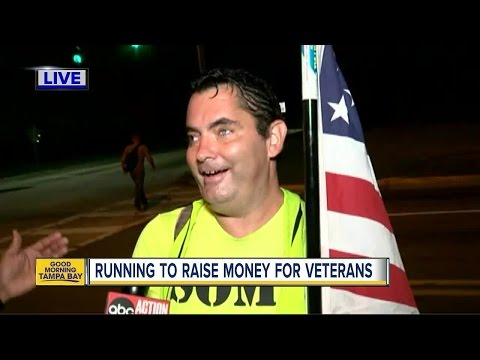 Clearwater man running to raise money for veterans