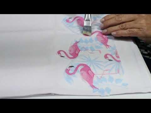 Pano de copa Flamingo
