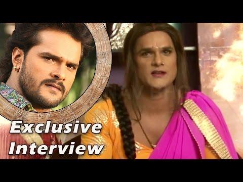 Video Khesari Lal Yadav Interview 2016 | Hoth Lali Se Roti Bor Ke | Khesari Lal Yadav | Nav Bhojpuri download in MP3, 3GP, MP4, WEBM, AVI, FLV January 2017