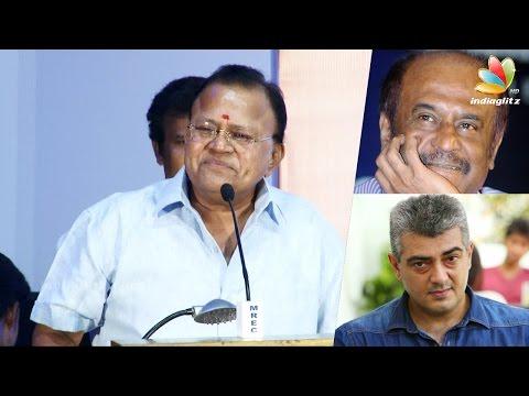 Radha-ravis-funny-speech-about-Ajiths-Salt-and-Pepper-look-Rajini