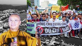 """TT. Thích Nhật Từ trả lời về cuộc biểu tình """"Luật đặc khu kinh tế"""""""