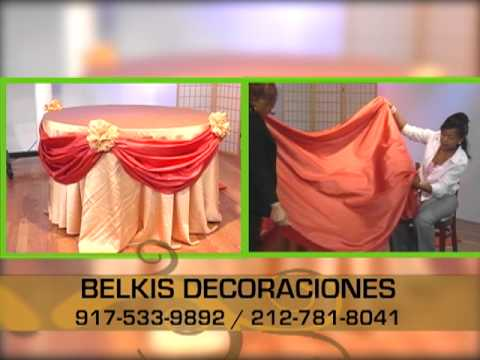 Decorando con Belkys, decoracion de mesa para eventos