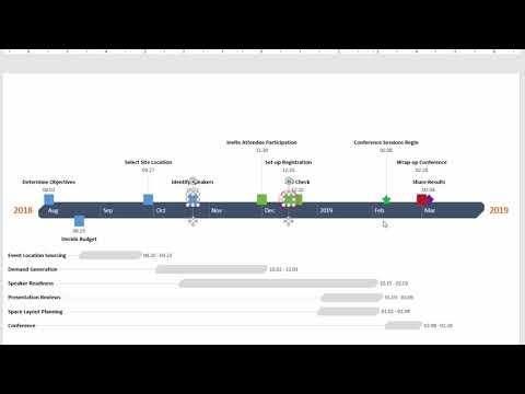 How to arrange milestones to fit more | Office Timeline 3.62