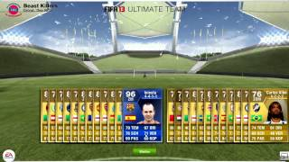 OMFG INIESTA TOTY [BLUE] CARD IN A PACK l 100.000 Pack | APNGaming l HD