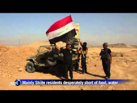 The Iraqi forces break the military siege of Amerli.