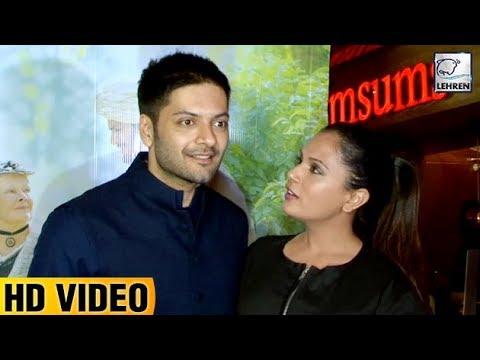 Ali Fazal And Richa Chadda's CUTE Moment | Victori